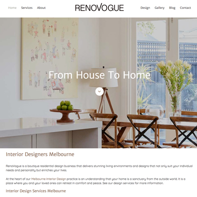 Online Marketing Melbourne | RenoVogue | Essendon Creative